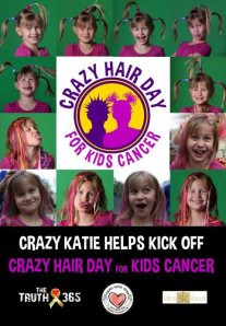 Crazy Hair Day for Kids Cancer