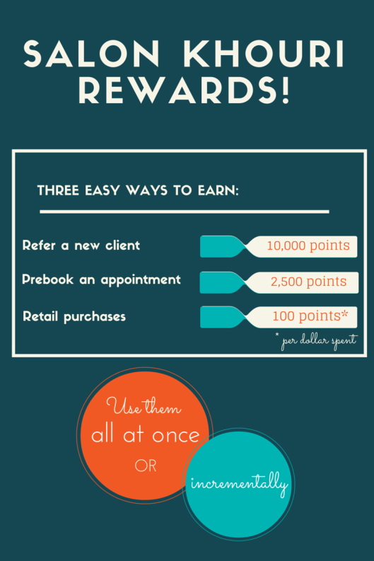 Salon Khouri Rewards